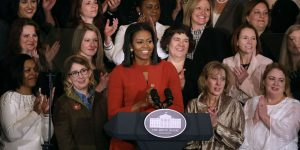 DemDaily: Michelle, the Movement & Michael Moore