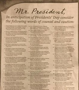 DemDaily: Dear Mr. President: Advice from your Predecessors