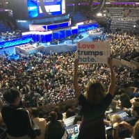 Love Trumps Hate - Day One of the 2016 Democratic National Convention
