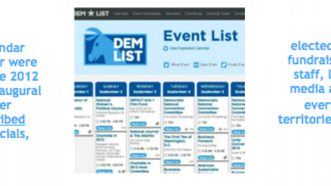 DemDaily: It Starts December 1st