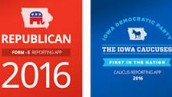 DemDaily:  Iowa Caucus Tonight – on an app