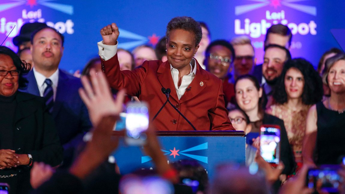 DemDaily: Chicago Makes History