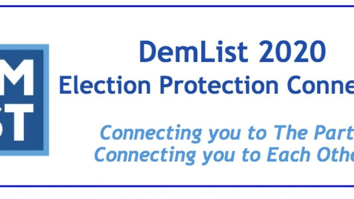 DemDaily: The List: National and State Voter Protection Resources