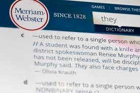 Merriam-Webster Definition of They