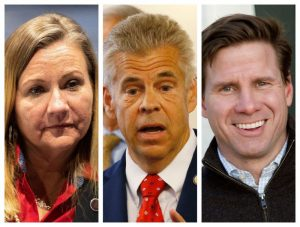 Three Virginia GOP candidates for governor