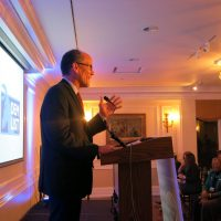 DNC Chair Tom Perez speaks at the Woman's National Democratic Club